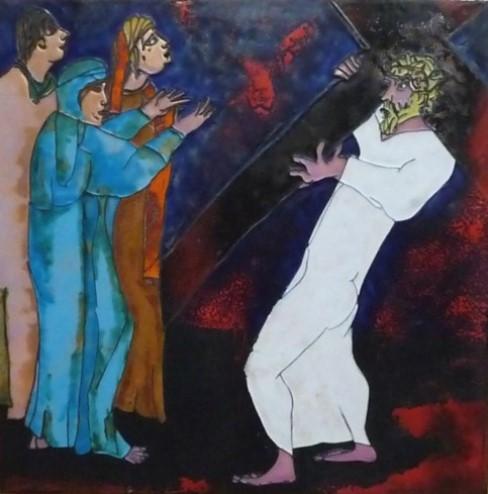 Jesus wird verhoehnt und verspottet