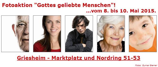 Gottes geliebte Menschen in Griesheim